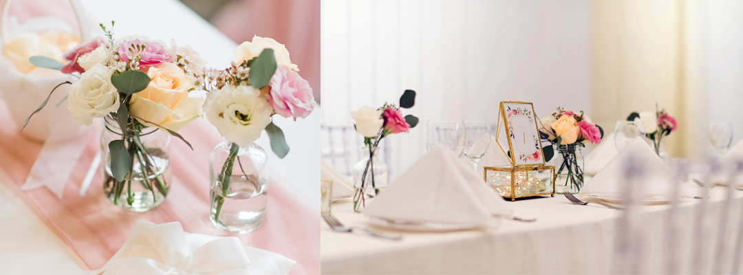 Intimate Solemnisation with Food Reception in Alcove at Caldwell House | Cosy Event Venue
