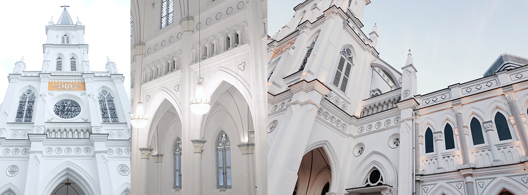 National Monument of Singapore | Chijmes Hall | Architecture