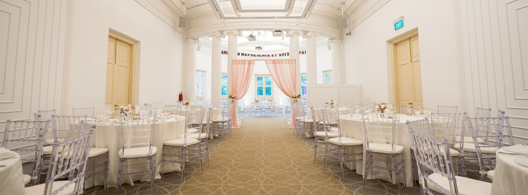 A National Monument of Singapore | Perfect for Intimate Weddings