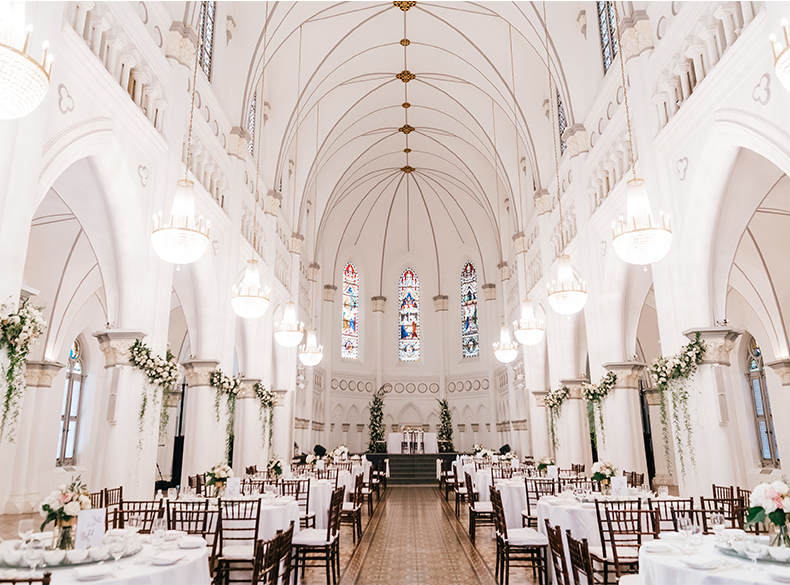 Wedding & Events Venue | Chijmes Hall by Watabe Wedding Singapore