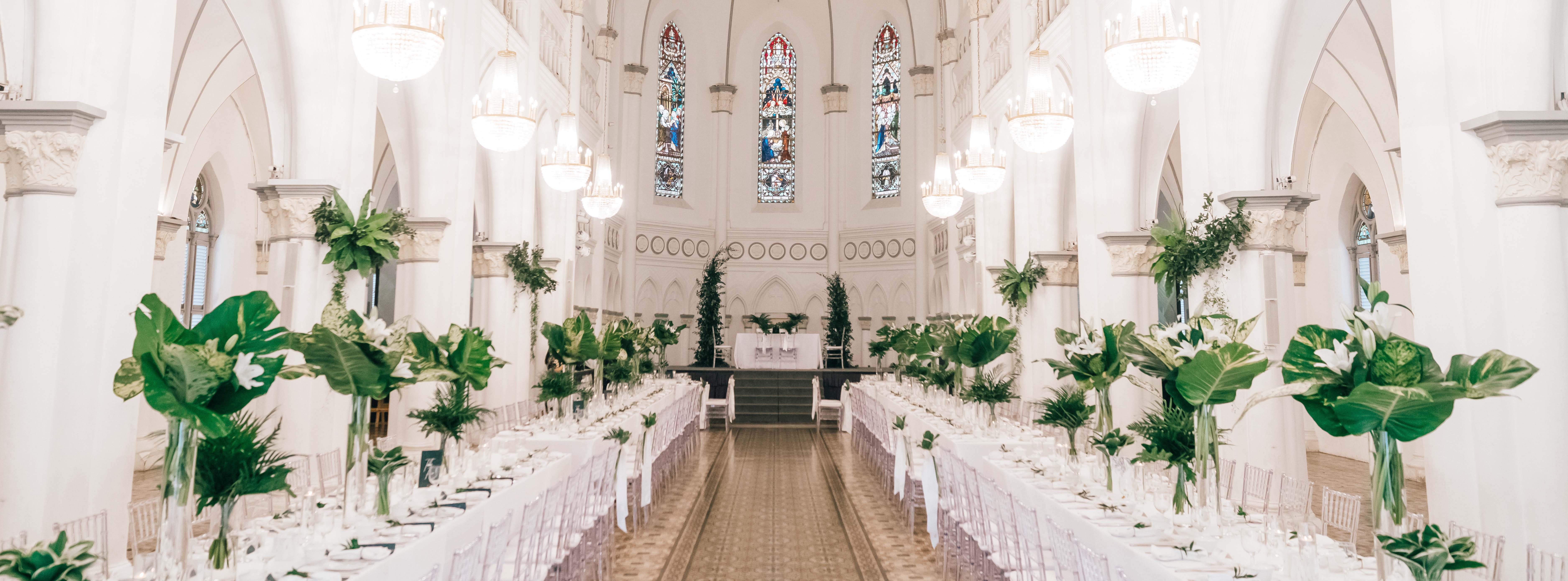 Classic And Elegant Wedding In Chijmes Hall